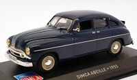 Altaya 1/43 Scale Model Car AL17221C - 1955 Simca Abeille - Blue