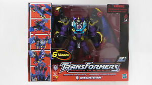 Hasbro Transformers 2001 2001 Robots In Disguise 6-Changer Leader Megatron