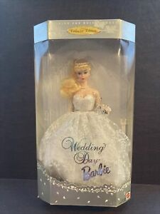 Wedding Day Barbie 1960 Fashion and Doll Repro 1996 Blonde Bride Collector- NRFB