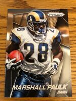 Marshall Faulk 2014 Panini Prizm Rams Card #48  *1645*