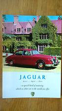 No 91 Morse Jaguar Mk II Mark 2 1962 Postcard Vintage Ad Galllery VJ99PC *MINT*