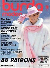 BURDA Moden Vintage - Octobre 1986