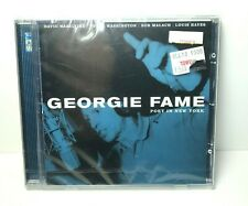 GEORGIE FAME  Poet In New York CD NEW SEALED Import 2000 Go Jazz