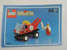 LEGO System 6446 Kran-Truck   kpl.   + Bauanleitung + Figur