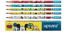 10 Wooden Pencils - Apsara Disney Mickey Mouse and Friends Free Eraser&Sharpener
