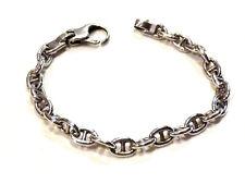 Bijou argent avec poinçons de maitre bracelet fermoir mousqueton bangle