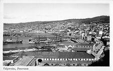 B95354 valparaiso panorama real photo chile