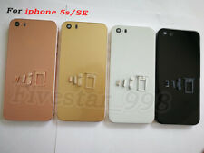 Back Door Battery Case For iPhone 5S SE To iphone 8 Housing Frame Cover+Button