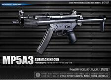 New Academy MP5A3 Submachine Gun Air Gun Airsoft Gun Rifle #17107 Model ABS Kit
