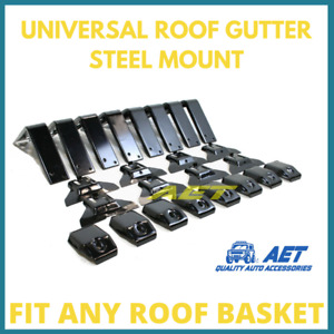 8 set - 4x4 Roof Gutter Mount Land Cruiser Patrol Jimmy Pajero Defender Jeep