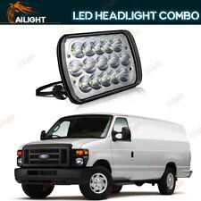 1P 7X6'' LED Headlight For Ford E-150 E-350 Econoline Club Wagon E250 Cargo Van