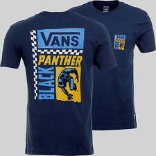 a4a3601e283 VANS X Marvel Black Panther Short Sleeve T-shirt Dress Blue Men s Size Large