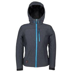 New Mobile Warming 7.4V Women's Adventure Jacket Heather Grey