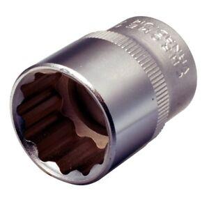 llave profunda de 1//2 pulgadas tuerca hexagonal de 78 mm de longitud Llave de vaso de impacto de 34 mm