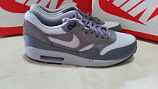 NIKE AIR MAX 1 ESSENTIAL MEN'S  ATHLETIC SHOES SIZE 9 GREY  537383 019