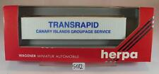 Herpa 1/87 1 x 40ft LKW Container Transrapid OVP #5182