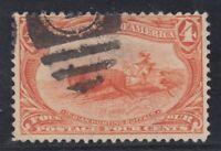 USA Scott #287  4 cent  Trans-Mississippi Expo   F *