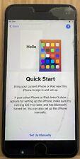 Apple iPhone 6s Plus (O2) Smartphone-Grigio Spazio * schermo rotto * modalità A1687