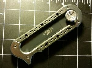 """NEW"" CAMILLUS SLYDR  sliding blade lunch AUS-8Japanese steelW/SHEATH .AUTHENTIC"