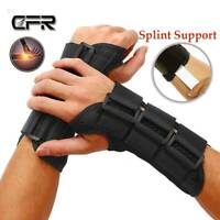 Adjustable Wrist Brace Support Arthritis Gloves Hand Pain Carpal Tunnel Copper S