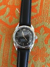 1956 Bulova Starburst Black 23 Jewel Automatic Self Winding Very Nice NR