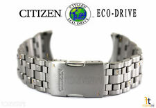 Citizen Eco-Drive S055521 Titanium Silver Tone Watch Band Strap