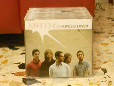 MAROON 5 - SHE WILL BE LOVED - radio edit + album version - slim case PROMOZIONA