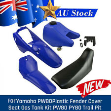 For Yamaha PW80 PY80 Dirt/Pit Blue Plastic Fender Body Seat Fuel Tank XMAS Gift