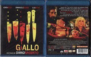 Blu-ray Giallo ( Dario Argento ) - Neuf sous cellophane