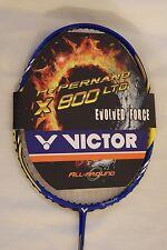 100% Strung Victor HX-800 LTD-P BADMINTON RACKET_4UG5_HYPERNANO X800 LTD