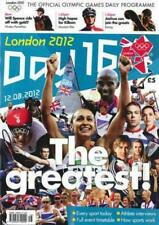 * OLYMPIC GAMES DAY 16 PROGRAMME LONDON 2012 *
