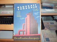 grafica futurista - 1940 stampa propagandistica TONERGIL ERBA