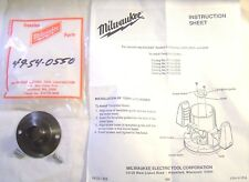 """New Milwaukee Router Template Guide 5/8"""" For Routers 5620 5660 5680 49-54-0550"""