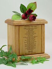 Small - A Tribute To A Best Friend Poem-Pet Cremation Urn/Dog Cat Urns