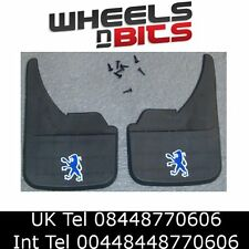 Peugeot Logo Universal Car Mudflaps Front Rear 806 807 1007 Mud Flap Guard