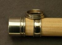 FLY ROD REEL SEAT nickel silver cap & ring hardware