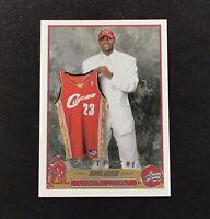 2003-04 Topps #221 LEBRON James ROOKIE Basketball Card LA LAKERS - MINT