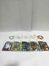 Lot of 10 Nintendo Wii Video Games-Not Tested