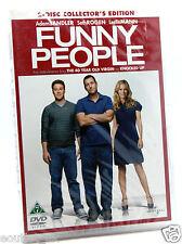 Funny People DVD Region 2 NEW SEALED Adam Sandler Seth Rogan