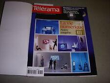 TELERAMA 3074 12.2008 VIE NUMERIQUE GAINSBOURG RANCIERE TROTIGNON