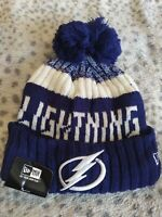 Tampa Bay Lightning Hat NHL Hockey New Era Beanie