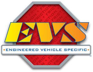 Frt Ceramic Brake Pads   EVS Friction   CD1645