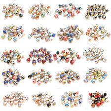 20 x Möbelknöpfe, Schrankgriffe, Möbelknäufe bunte Knäufe Kommodengriff, Keramik