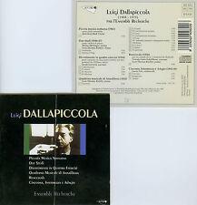 DALLAPICCOLA  musique de chambre  ENSEMBLE RECHERCHE