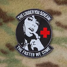 Para Rescue PJ Pedros THE LOUDER YOU SCREAM Morale Patch Hook
