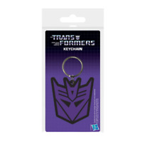 Transformers G1 Keyring Keychain Decepticon Official Licensed Hasbro - RARE