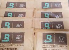 (8) Boveda 65% Packs 2-Way Humidor Control Large 60 gram Sealed Packets