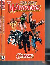 New Warriors Classic Volumes 1-3 Tpb Nicieza, Bagley & Frenz Marvel Comics 2009