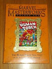MARVEL MASTERWORKS GOLDEN AGE HUMAN TORCH VOL 142 #9-12 HARDBACK 9780785133506