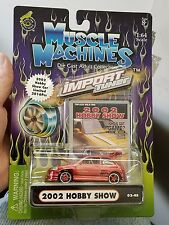 MUSCLE MACHINES  2002 HOBBY SHOW HONDA CIVIC HB LIMITED TO 2016 PIECES